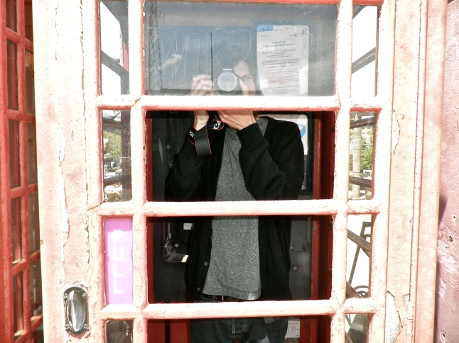 There were seven or eight telephone booths here!