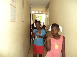Girls that lived at the orphanage